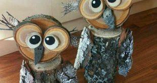 Winter Wood Craft Ideas