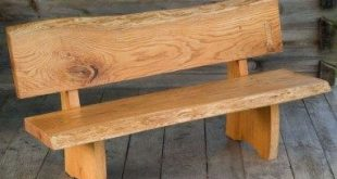 Wooden Bench Ideas Beautiful Wood Slab Bench Plans Google Search for the Home Pinterest