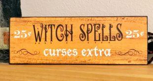 Halloween Décor Wood Signs