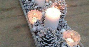 15 schöne Weihnachtstischdekorationen, die Sie kopieren können - #christmas #D...