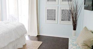 47 Dark Wood Floor Ideas for Modern Bedroom