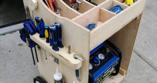 Wood Air compressor car - #Air #Car #compressor #Wood #workbench
