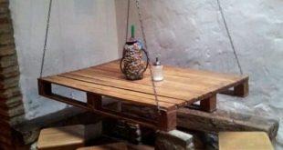 17+ Super DIY Holzpalette Esstisch Set Ideen