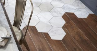 19 Flooring Transitions From Wood to Tile
