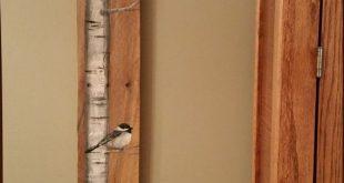 42 TALL Reclaimed Wood Pallet Art Hand von TheWhiteBirchStudio