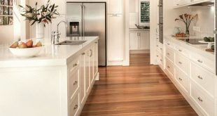 49 Modern Hardwood Flooring Design Ideas For Your Kitchen