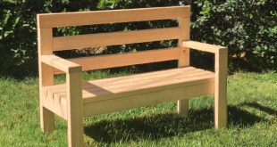A wooden bench is a great project for a beginning DIYer. Whether you'd like a ...