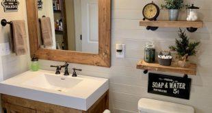Awesome 48 zarte Badezimmer Design-Ideen für kleine Wohnung mit kleinem Budget. Mehr