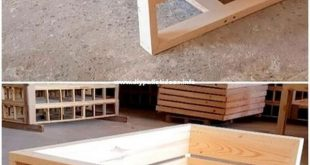 Die letzten 50 Holzrecycling-Palettenmöbelprojekte #Holzmöbel #Möbel #Palette...
