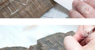 Einfache DIY-Holzschilder mit der einfachsten Übertragungsmethode … Und KEINE ausgefallenen Geräte