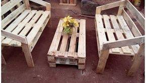 Einfachste DIY-Projekte mit alten Holzpaletten