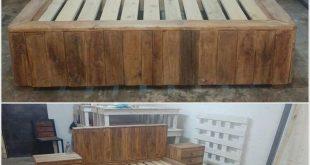 Einige coole Projekte mit gebrauchten Holzpaletten