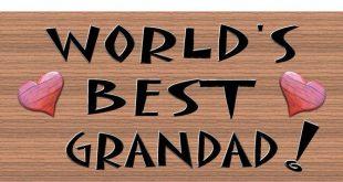 Grandad Wood Signs -GS178 - Grandad Plaque