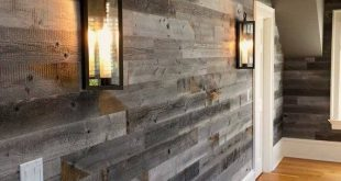Gray Reclaimed Barn Wood Wall Panel- (20 Sq Ft, Reclaimed Barn Wood) - #barn #ft...