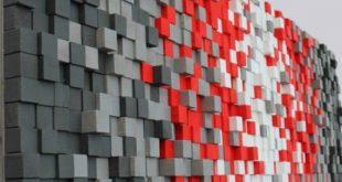 Große 30 x 80 Zoll moderne rustikale Holz Wandkunst aufgearbeitete Holz Wandkun...