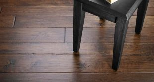 Hickory Handscraped wood flooring. These hickory planks were hand-sculpted and s...