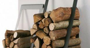 Holzlager Ideen im Haus -