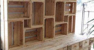 Holzpaletten Ideen für die Holzpalette – – # diymöbel #WoodWorking
