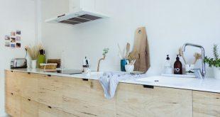 Mein skandinavisches Zuhause: Küche aus rauem Holz im Interieur-Buch: & # 39; How … #WoodWorking