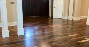 Old Growth Black Walnut Hardwood Flooring