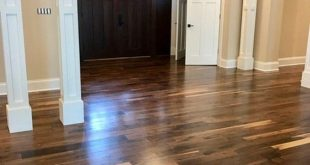 Pre-Finished Black Walnut Flooring