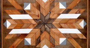 Reclaimed Wood Wall Art, Southwestern Art, Rustic Wall Art, Southwest wood art, Geometric Wood Art, Tribal Art, Chevron Wall Art