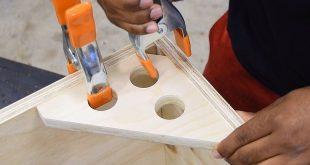 Winkelspannvorrichtung (Tipps und Tricks zur Holzbearbeitung) #WoodWorking
