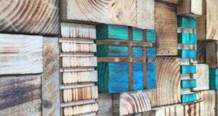Wood Wall Art Panel : BlueGreen 15 by Delphworx on... - #Art #articles #BlueGree...